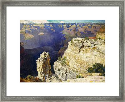 The Grand Canyon Framed Print by Edward Henry Potthast