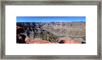 The Grand Canyon Panorama Framed Print