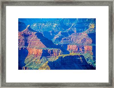 The Grand Canyon Peaks Framed Print by Alex Grichenko