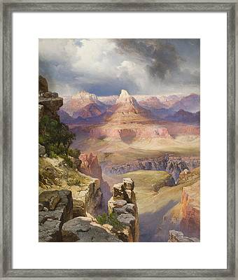 The Grand Canyon Framed Print by Thomas Moran
