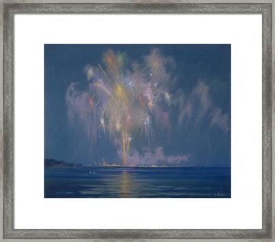 The Grand Finale Framed Print by Lendall Pitts