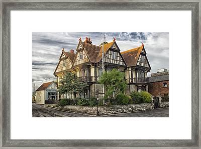The Grand House Framed Print