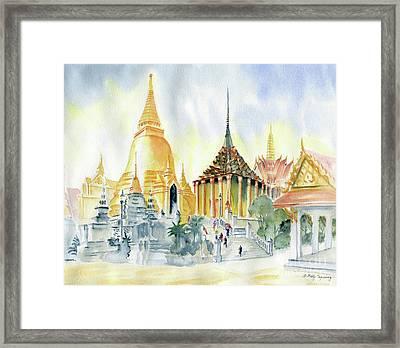 The Grand Palace Bangkok Framed Print