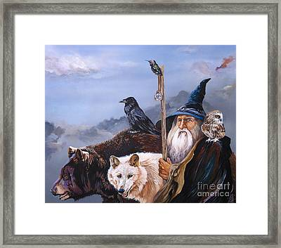 The Grand Parade Framed Print