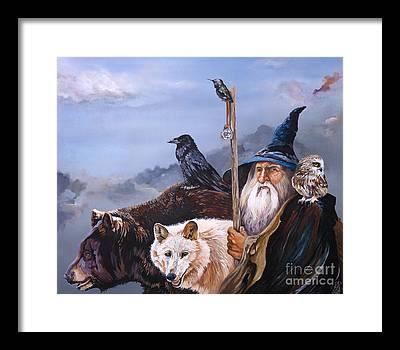 Wizard Framed Prints