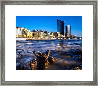 The Grand River Framed Print by Laura Christensen