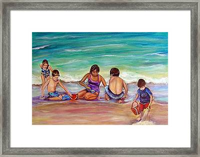 The Grands Framed Print