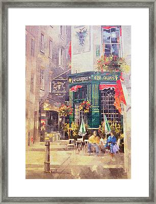 The Grapes Framed Print by Peter Miller