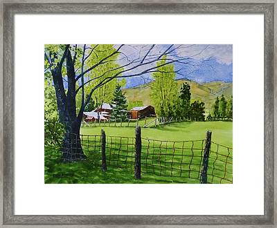 The Grass Is Greener Framed Print by Don Bosley