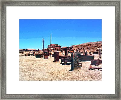 The Graveyard Framed Print by Dominic Piperata