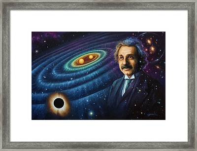 The Gravity Of Thought Framed Print by Lucy West