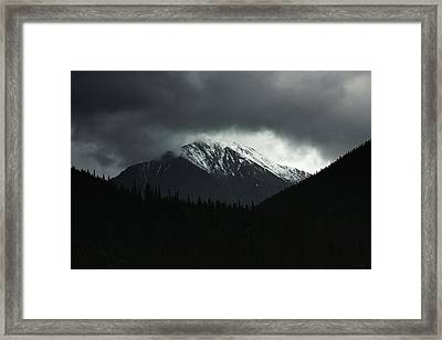 Turbulence Over Torreys Framed Print