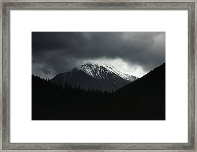 The Grays Of Grays Framed Print