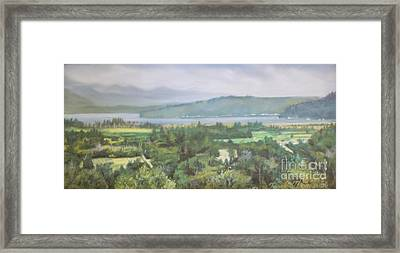 The Great Bend Framed Print by Terri Thompson