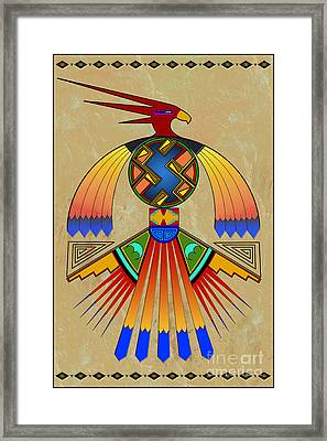 The Great Bird Spirit Framed Print