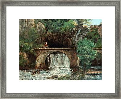 The Great Bridge  Framed Print by MotionAge Designs