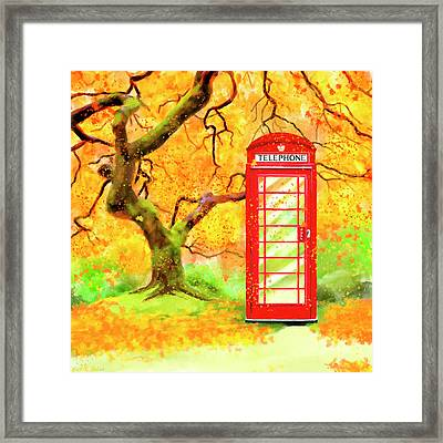 The Great British Autumn Framed Print