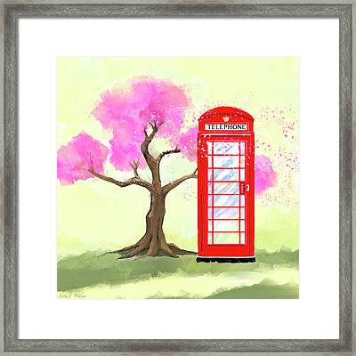 Framed Print featuring the mixed media The Great British Spring by Mark Tisdale