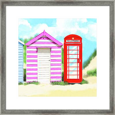 Framed Print featuring the mixed media The Great British Summer by Mark Tisdale
