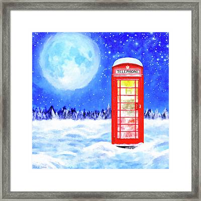 The Great British Winter Framed Print