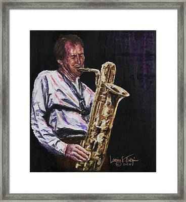 The Great Bruce Johnstone Framed Print by Laurie Tietjen