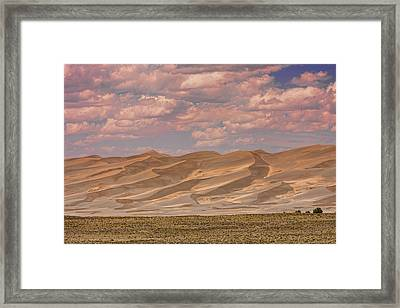 The Great Colorado Sand Dunes  177 Framed Print by James BO  Insogna