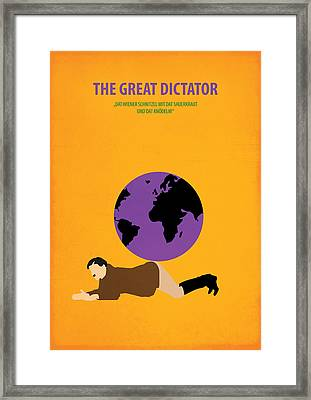 The Great Dictator Framed Print by Fraulein Fisher