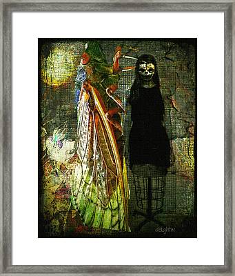 Framed Print featuring the digital art The Great Escape by Delight Worthyn