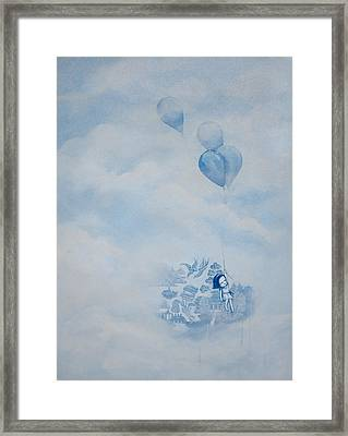 The Great Escape Framed Print by Konrad Geel