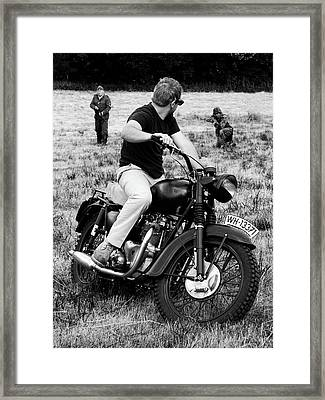 The Great Escape Framed Print by Mark Rogan