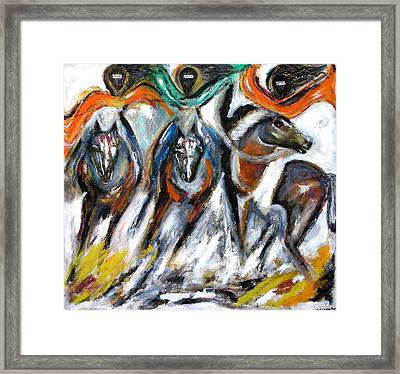 The Great Escape Framed Print by Narayanan Ramachandran