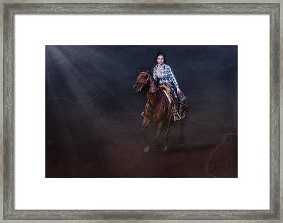 The Great Escape Framed Print by Susan Candelario