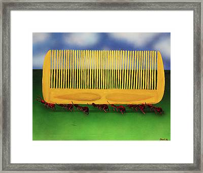 The Great Escape Framed Print by Thomas Blood