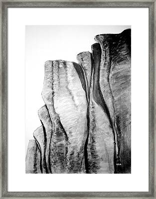 The Great Escarpment  -  Australia Framed Print