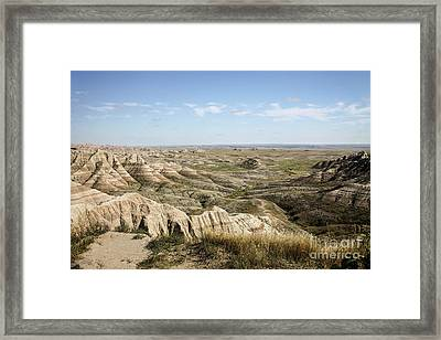 The Great Expanse Framed Print by Sandy Adams
