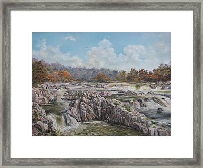 The Great Falls Framed Print by Tigran Ghulyan