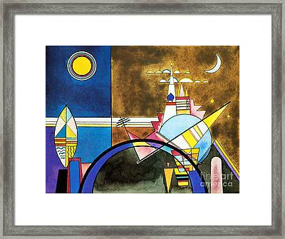The Great Gate Of Kiev Framed Print
