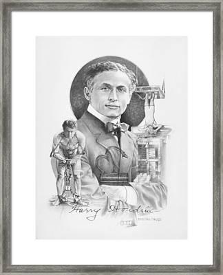 The Great Houdini Framed Print