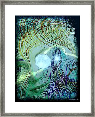 The Great Mother Lunar Framed Print