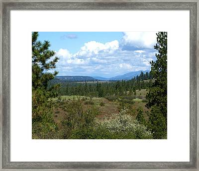 Framed Print featuring the photograph The Great Northwest by Ben Upham III