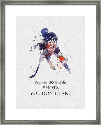The Great One Quote Framed Print