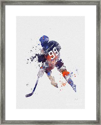 The Great One Framed Print by Rebecca Jenkins