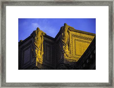 The Great Palace Of Fine Arts Framed Print