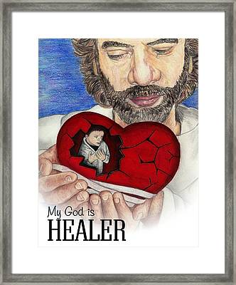 The Great Physician Framed Print