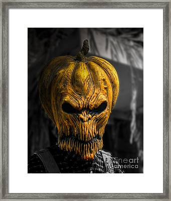 The Great Pumpkin Framed Print by Jeffrey Miklush