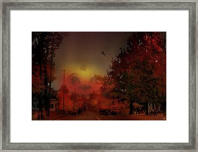 The Great Pumpkin Framed Print