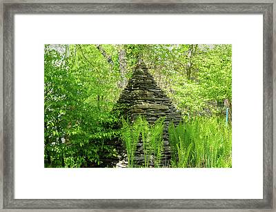 The Great Pyramid - Schuylkill Valley Nature Center Framed Print