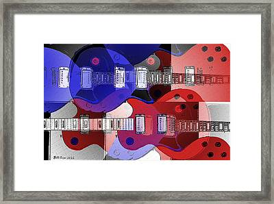 The Great Rock And Roll Swindle Framed Print by Bill Cannon