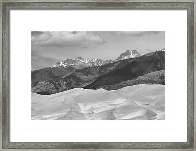 The Great Sand Dunes Bw Print 45 Framed Print by James BO  Insogna