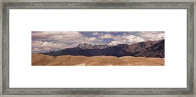 The Great Sand Dunes Panorama 1 Framed Print by James BO  Insogna